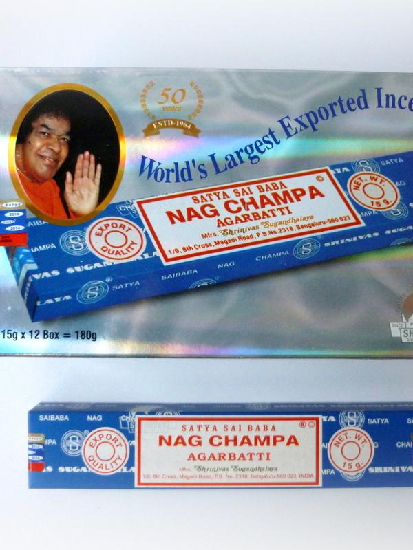 Sai Baba Nag Champa voordeeldoos