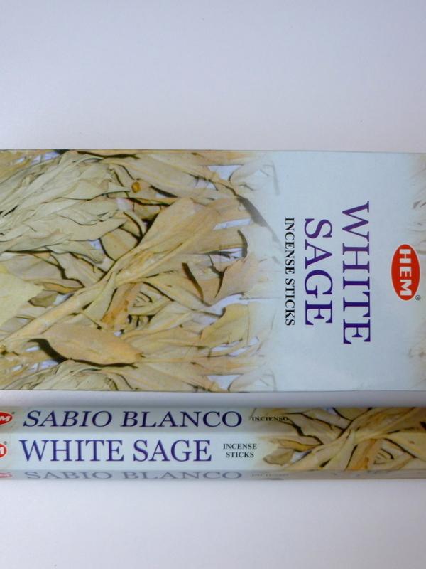 White sage / Witte salie