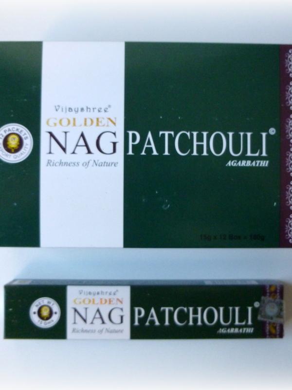 Golden Nag Patchouli (MOMENTEEL UIT VOORRAAD)!