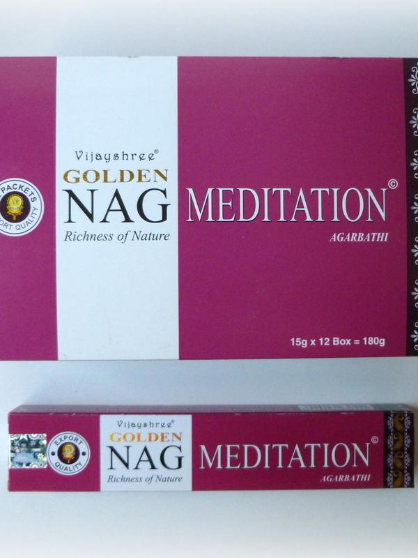 Golden Nag Meditation (MOMENTEEL UIT VOORRAAD)!