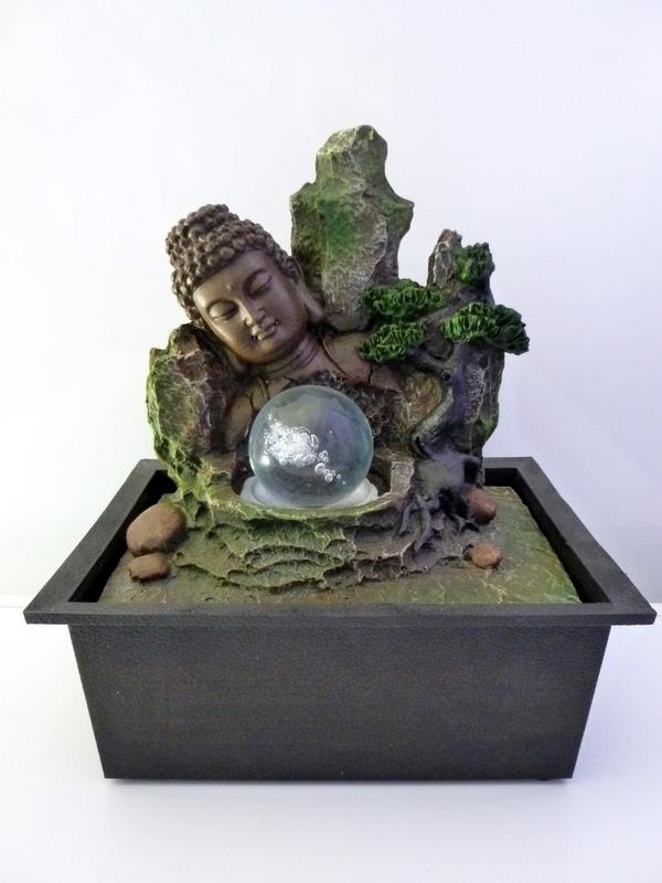 Boeddha fontein 01