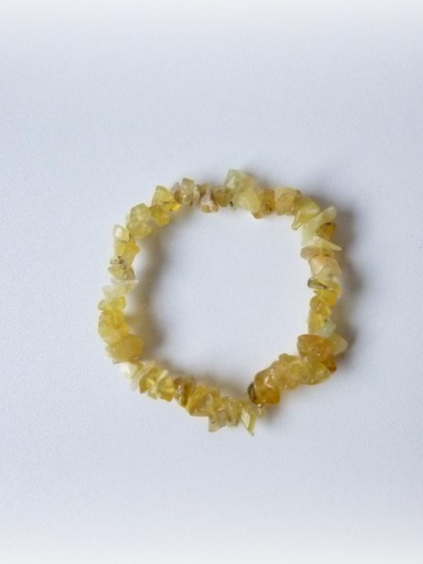splitarmband gele Agaat