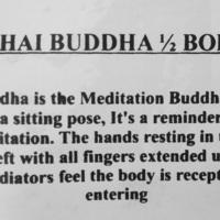 Thai Buddha, buste