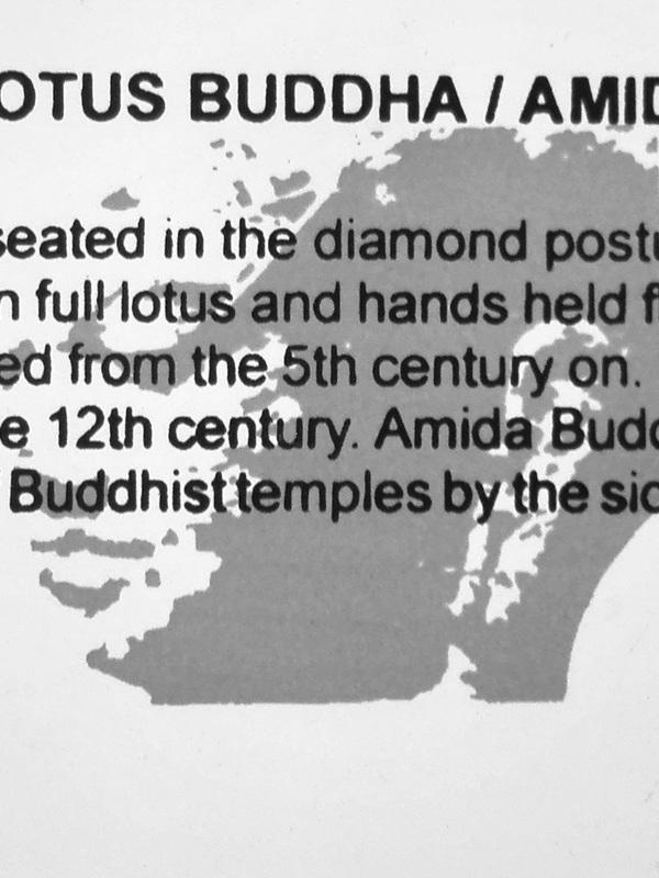 Chinese Lotus Buddha