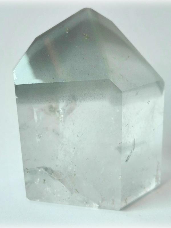Bergkristal met Anataas fantoom