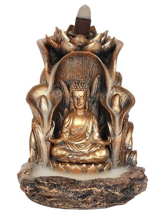 Buddha backflow wierook brander  (MOMENTEEL UIT VOORRAAD)!