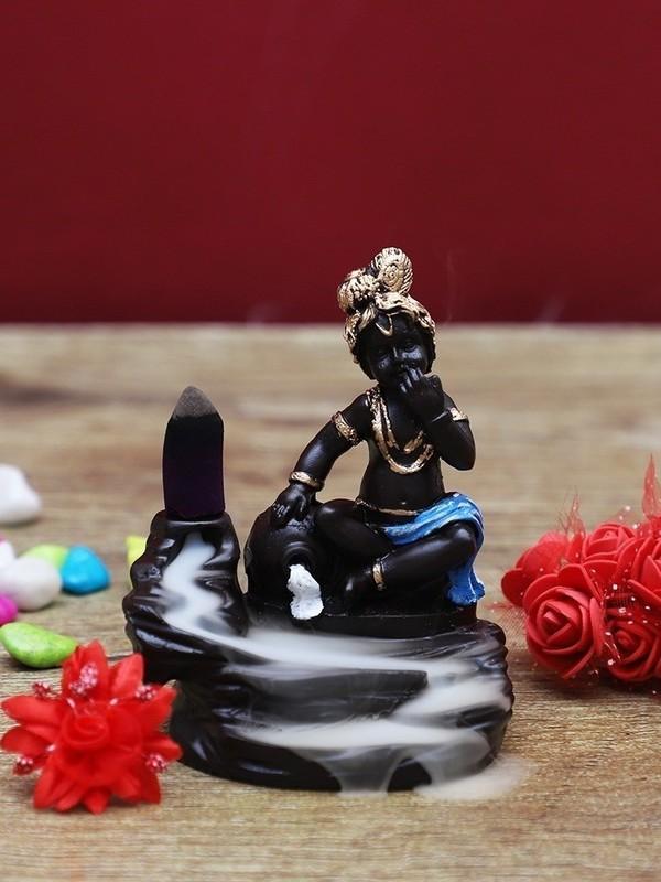 Krishna backflow wierook brander