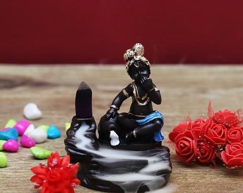 Backflow wierook brander Krishna