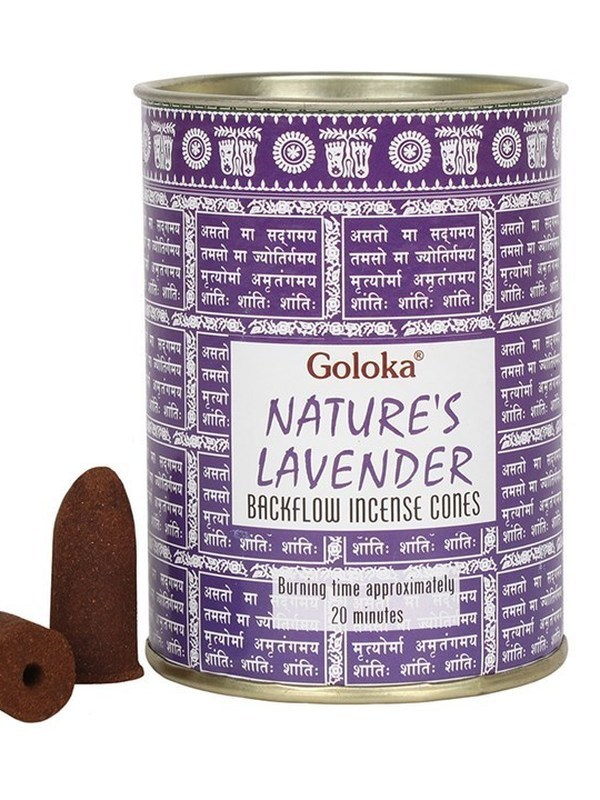 Goloka Nature's Lavender Back Flow kegels