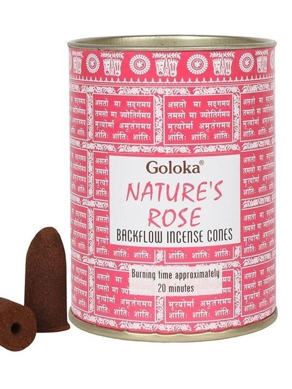 Goloka Nature's Rose Back Flow kegels