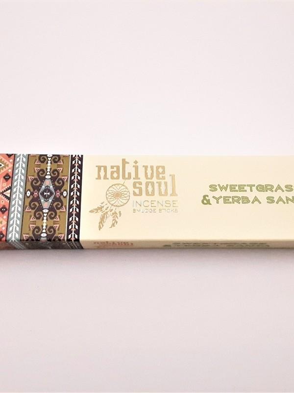 Native soul - Sweetgrass & Yerba santa
