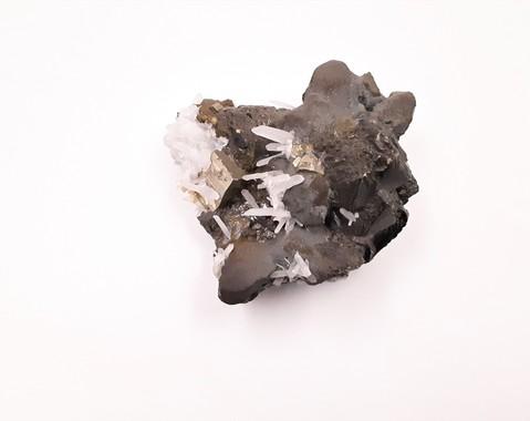 Pyriet, Bergkristal, Sfaleriet