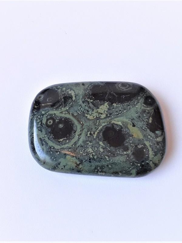 Oplegger/platte steen Jaspis Kambaba 01