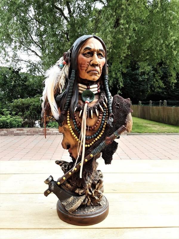 Buste indiaan