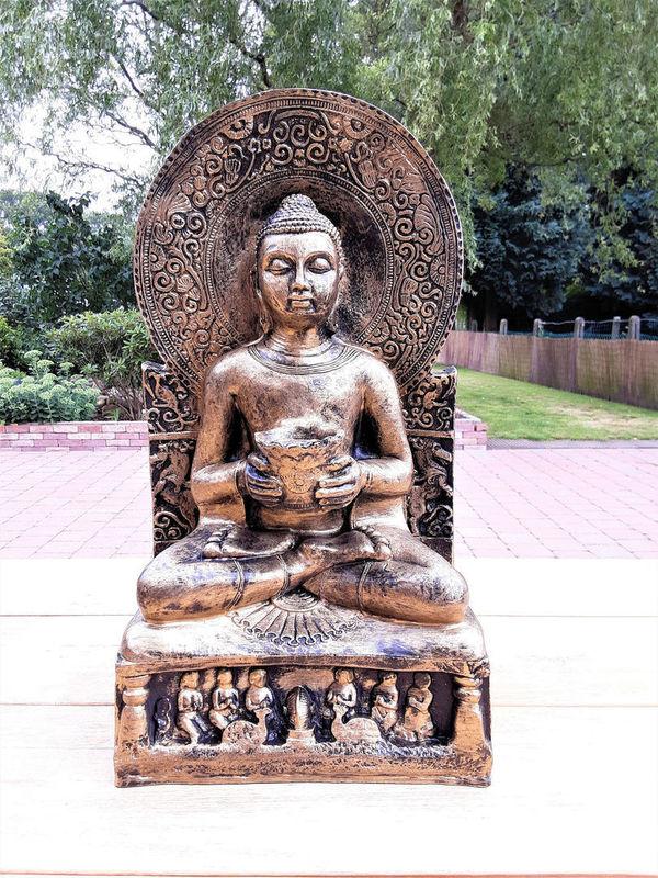 Boeddha beeld meditatie